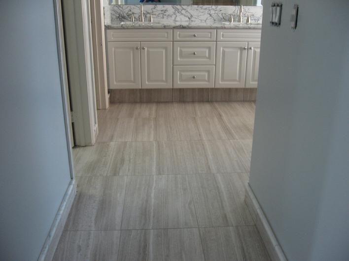 Silver beige cut limestone tile from daltile stuff mom for 16 inch floor tile