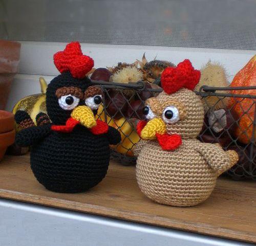 Download Little Brown Chicken Amigurumi Pattern (FREE)