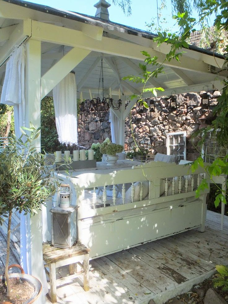 princessgreeneye: - our new pavilion with DIY ..............
