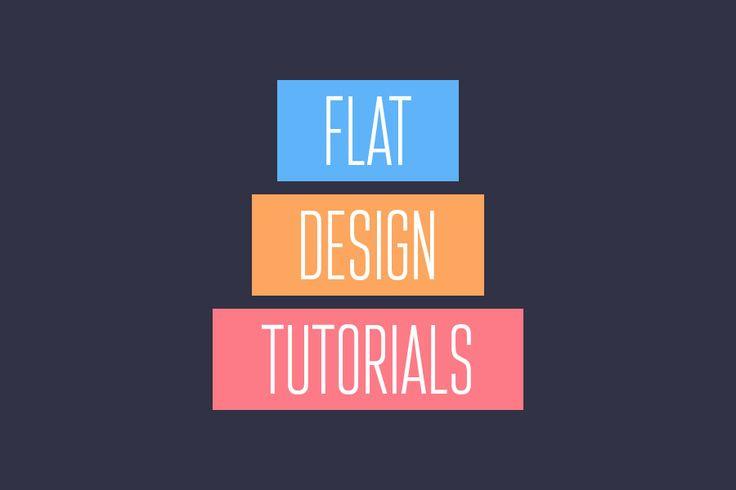 flat ui design tutorials
