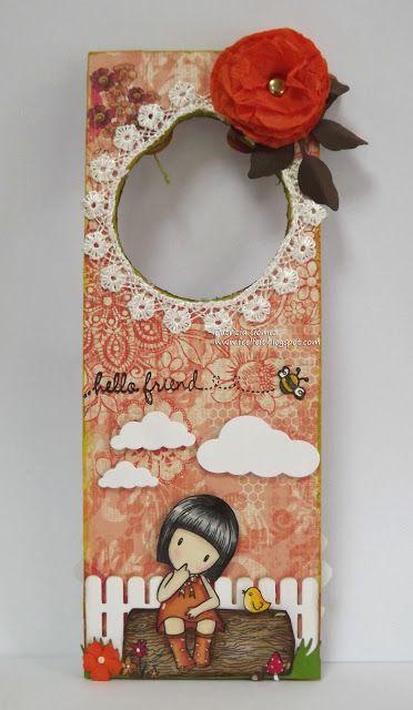 Feel&Felt: Gorjuss Door hanger (Colgador de Puerta)