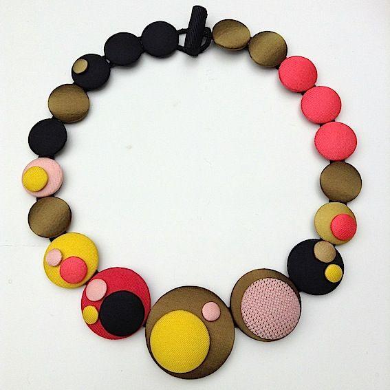 Cécile Bertrand # textile jewellery » LATEST WORK
