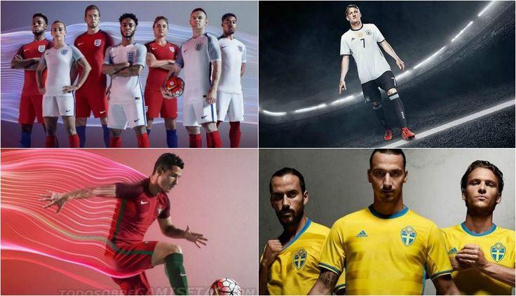 Eurocopa Francia 2016: las nuevas pieles de los mejores equipos del torneo