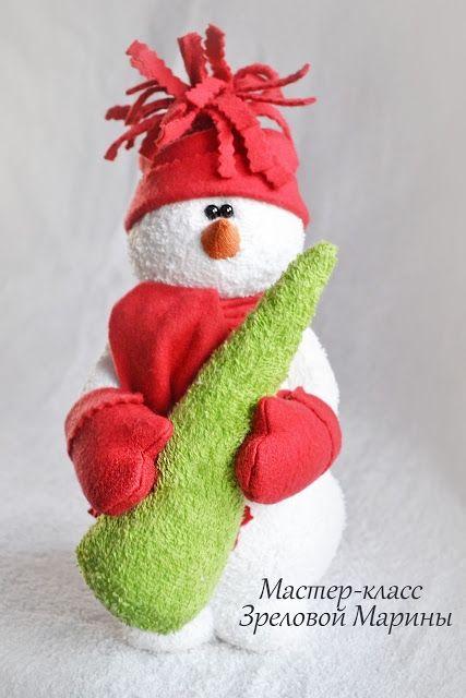 Снеговик сшить своими руками