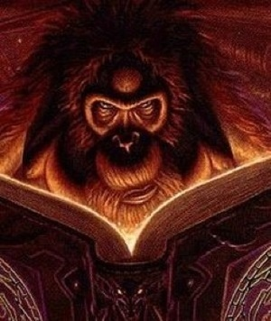 Ooook! - The Librarian of Unseen University Library in Terry Pratchett's Discworld