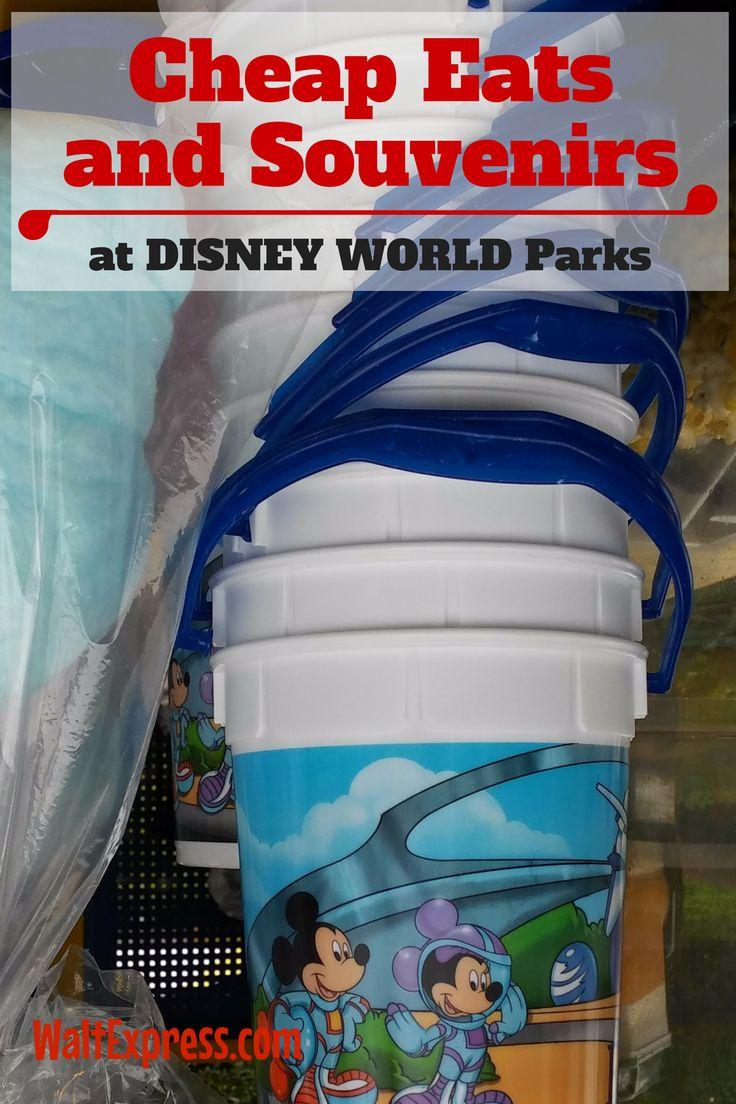 Cheap Eats and Souvenirs at Disney World Parks: Popcorn!