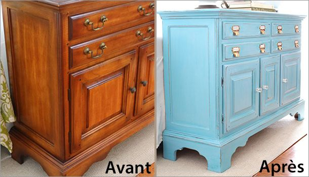 188 best relooking meubles by MclMcl   wwwautour-de-la-deco - Repeindre Un Meuble En Chene