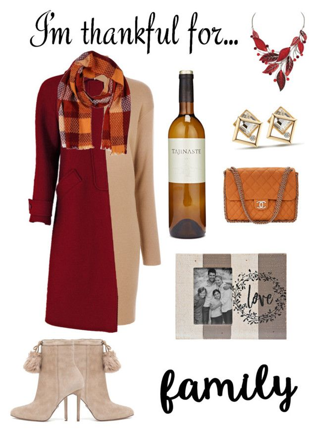 """thankful for"" by anna-lynn-dunbar on Polyvore featuring MICHAEL Michael Kors, Courrèges, Altea and Chanel"
