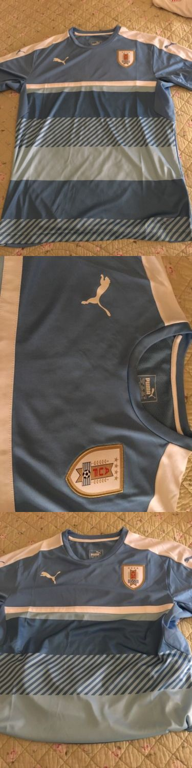 Soccer-National Teams 2891: Uruguay Training Jersey -> BUY IT NOW ONLY: $50 on eBay!