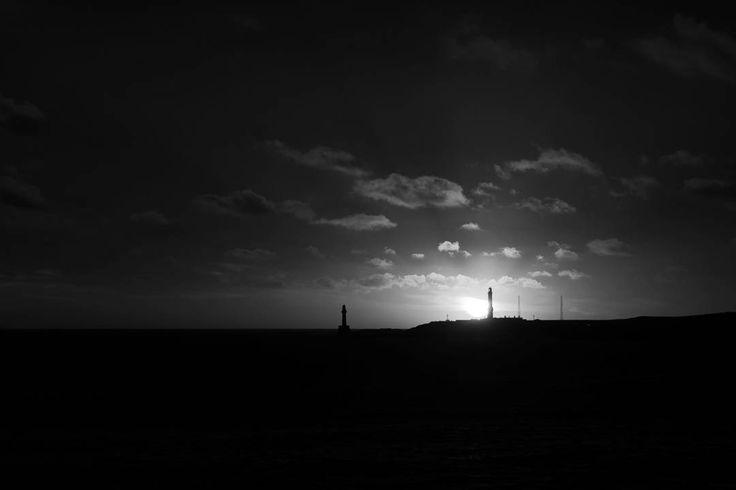 A stunning sunrise at Aberdeen beach this morning.  Photographer: @notnixon