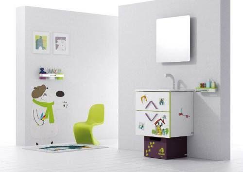 """Niesamowita kolekcja """"Lesson 1 """" firmy Sonia to połączenie łazienki i dydaktycznych akcesoriów. Z pewnością zamieni każdą kąpiel w świetną zabawę. Niezaprzeczalnie urocza, wzbudza u dzieciaków ciekawość. Linie emanują żywymi kolorami a..."""
