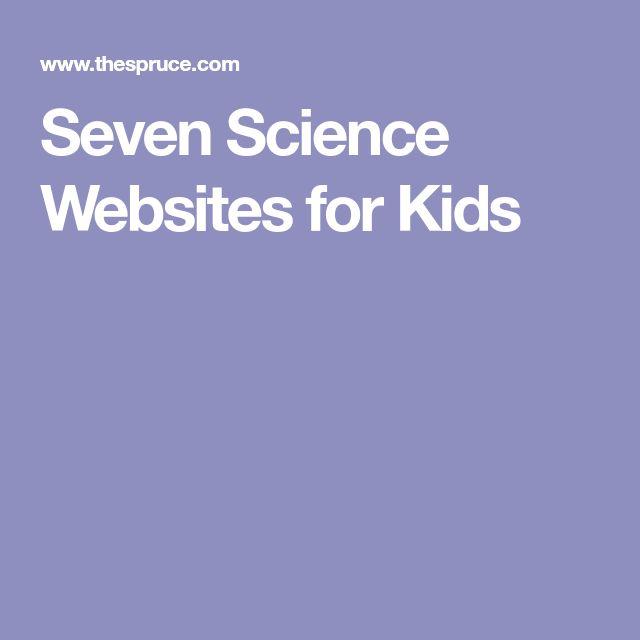 Seven Science Websites for Kids