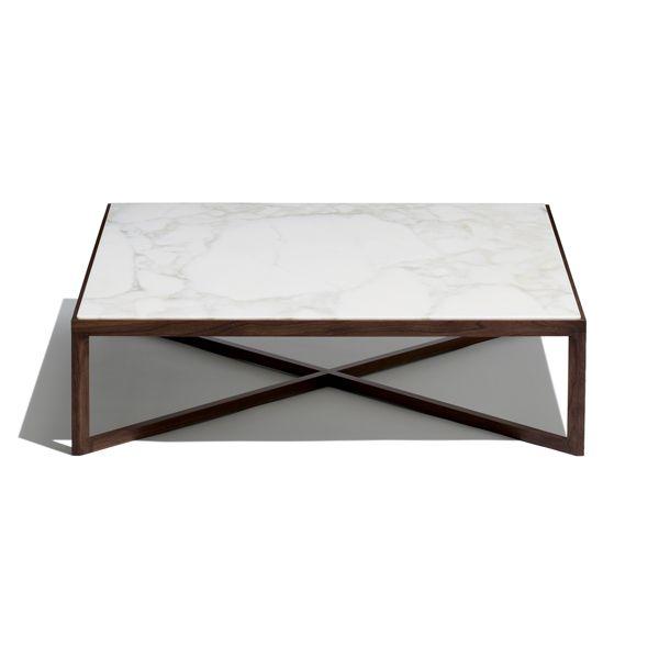MARC KRUSIN COFFEE TABLE (MARBLE TOP)