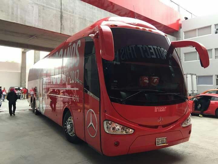 Mercedes benz irizar i6 club deportivo Toluca México