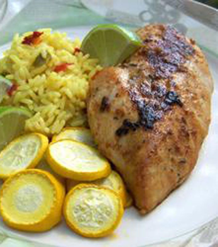 Spicy Garlic Lime Chicken | Meat me at the table ...