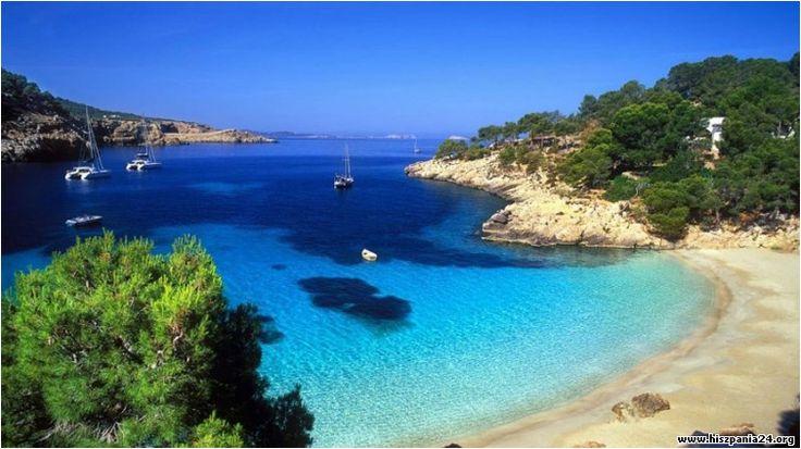 Ibiza to nadzwyczajna wyspa, jest piękna ma wybrzeże urozmaicone malowniczymi plażami w zatoczkach #hiszpania #baleary #ibiza
