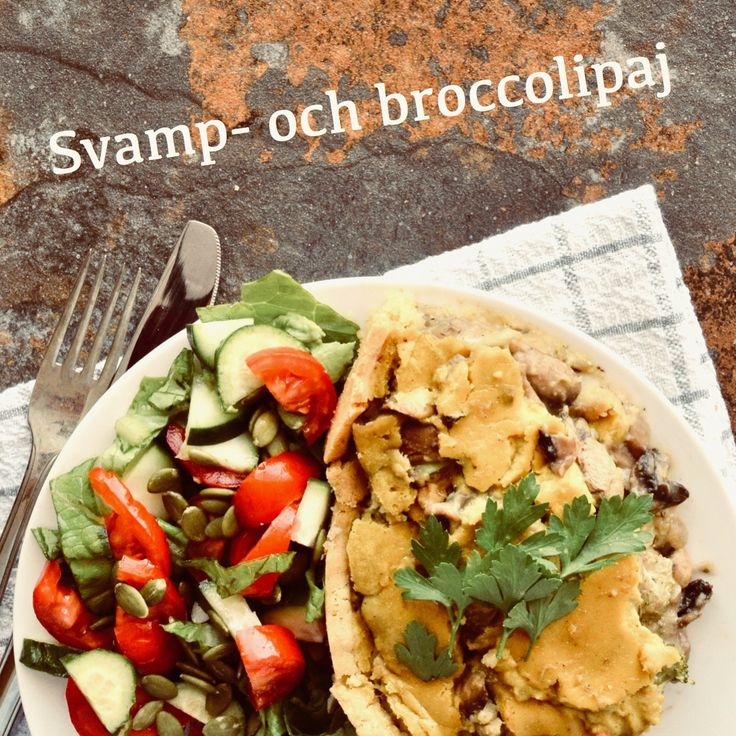 Svamp- och broccolipaj! 💚Receptet finns i meny 16.  www.allaater.se