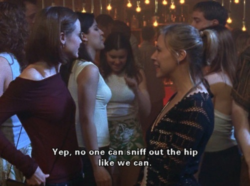 No one can sniff out the hip like we can - Paris Gellar