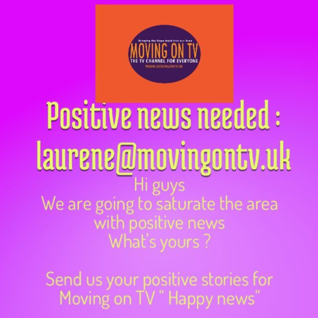 "Looking for positive news for our "" Happy news "" coming soon all over the internet"