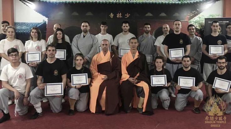 Shaolin Temple Greece-Peristeri | 2 days workshop with Master Shi Yan Ti...