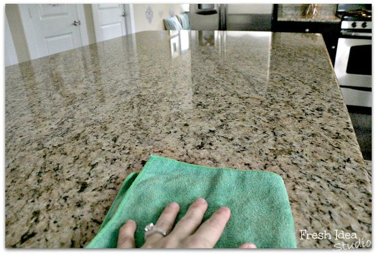 23 best images about kitchen on pinterest giallo for Best way to clean granite kitchen countertops