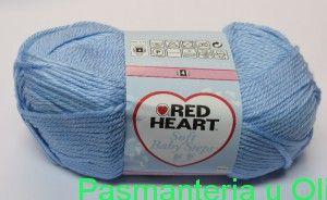 Włóczka Soft Baby Steps Red Heart Coats 100g - 164m kol. 00007