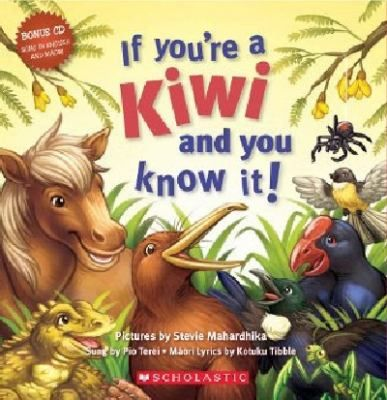 Kiwi-ised version of 'If You're Happy And You Know It' featuring New Zealand animals. If you're a kiwi and you know it, dig for worms, If you're a spider and you know it, scuttle about, If you're a tui and you know it, sing a song, If you're a dolphin......