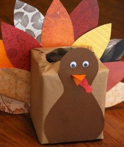 Have you ever thought of using your recycled materials for turkey crafts? This Scrap Paper Turkey Box project will definitely give you a wonderful idea on how to make turkey crafts out of simple materials. | AllFreeKidsCrafts.com