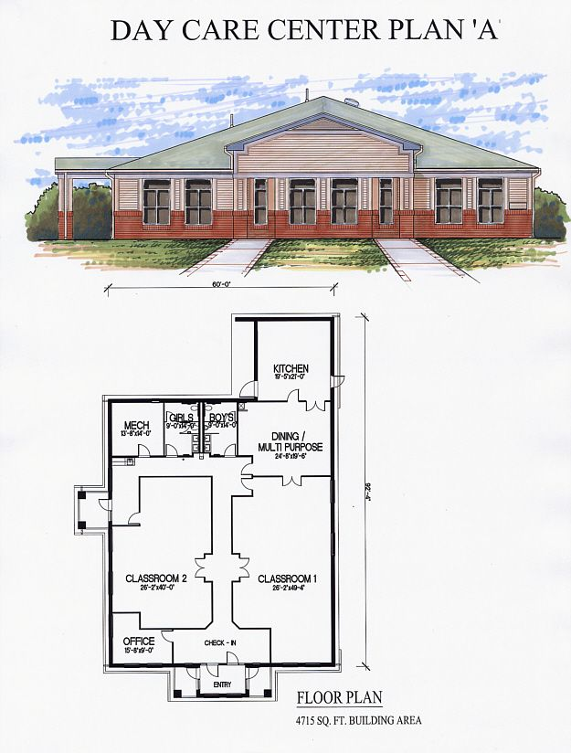 Day care center plan a preschool blueprints pinterest for Design a preschool classroom floor plan online