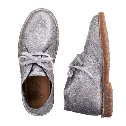 Girls' shimmer glitter MacAlister boots
