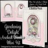 Gardening Delight Arched Window Mini Kit