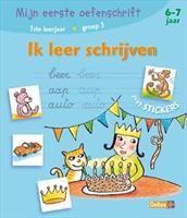 Ik leer schrijven / Mijn eerste oefenschrift http://www.bruna.nl/boeken/ik-leer-schrijven-mijn-eerste-oefenschrift-9789044710465