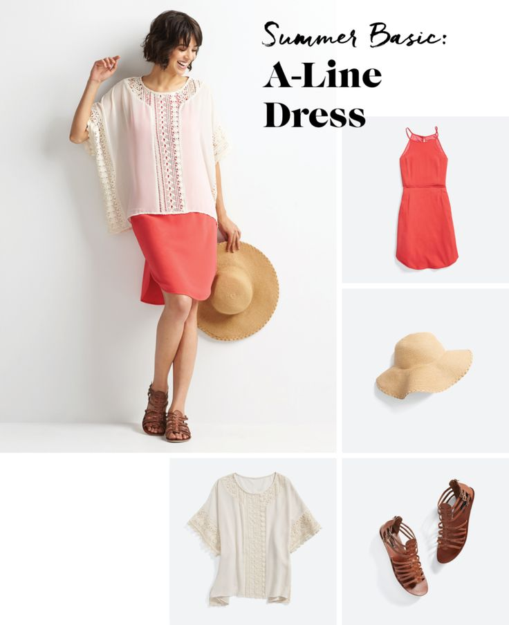 Shake Up Your A-Line Dress
