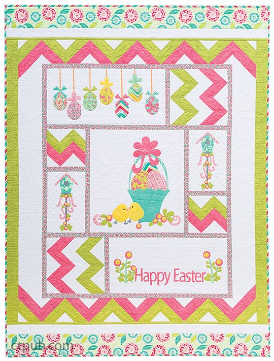 374 Best Easter Images On Pinterest Quilt Patterns Baby Quilts