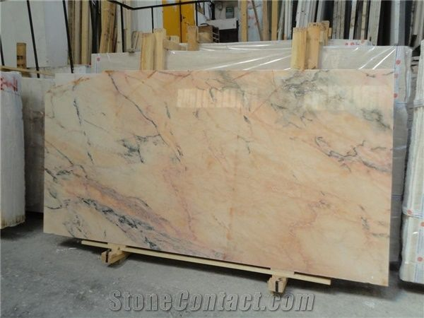 Rosa Aurora Marble Slab Portugal Pink Marble From Spain 139161 Stonecontact Com In 2020 Pink Marble Marble Slab Marble