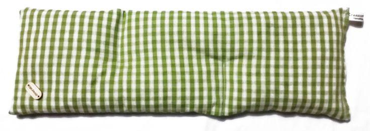Cuscino Lungo XL coolpack noccioli di ciliegia riscaldabile in forno o microonde
