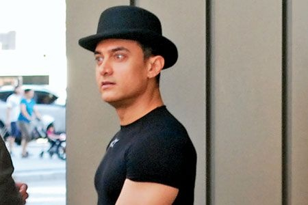 Aamir Khan's new look for 'Dhoom 3'