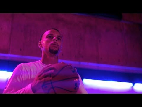 Justice met Steph Curry this summer while shooting this awesome commercial! UNDER ARMOUR CURRY 3 - MAKE THAT OLD