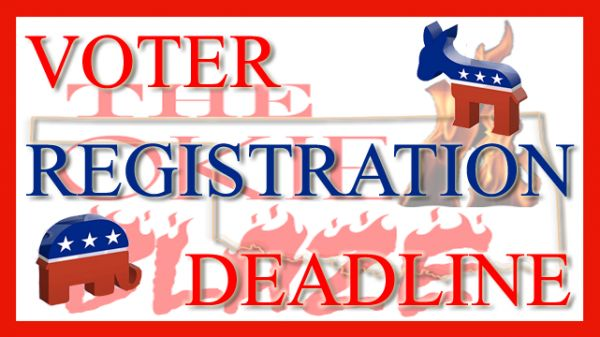 Voter Registration Deadline for Primary Election Approaches, Sample Ballots Available http://theokieblaze.com/stories/2014/05/28/voter-registration-deadline-for-primary-election-approaches-sample-ballots-available/