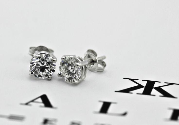 Brilliant cut diamond stud earrings by Kalfin Jewellery... #kalfinjewellery #Kalfin #diamonds #rings #diamondrings #engagementring #diamondstuds #studearrings #jewellery #Melbourne #melbournejewelery #fashion #fashionblogger #style #stylemepretty #detail #design #cbdjewellery #couture #luxury #custommadering #handemadejewellery #beautiful