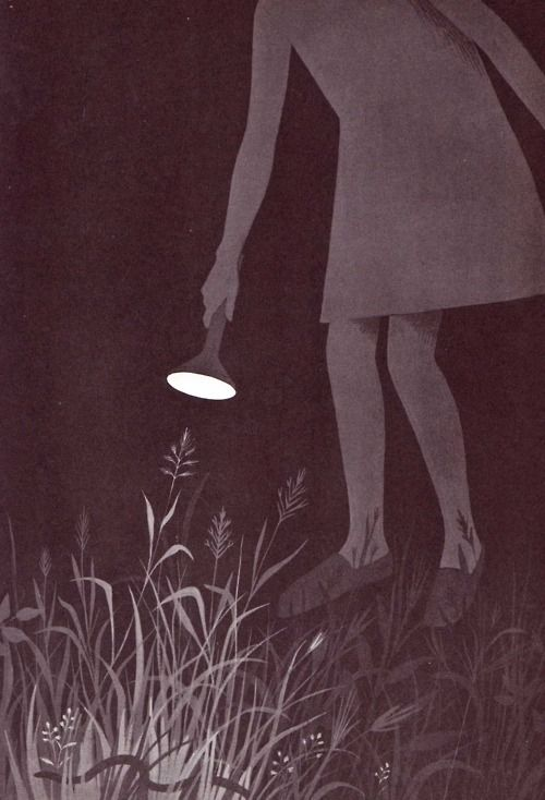 otherstuffmykidloves:    In the Middle of the Night by Aileen Fisher ~ pictures by Adrienne Adams ~ Thomas Crowell, 1965