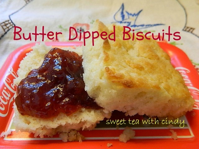 BUTTER DIPPED BISCUITS | Recipes Saved | Pinterest