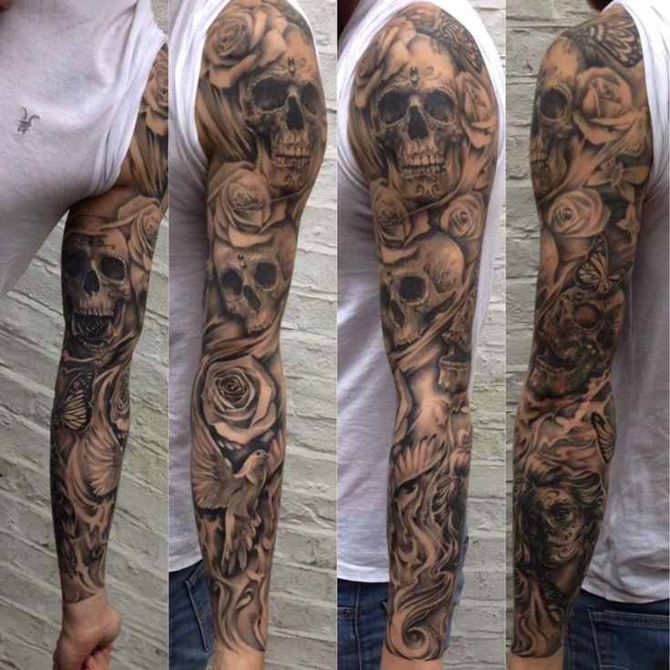 sick sleeve tattoo ideas - Google-søk