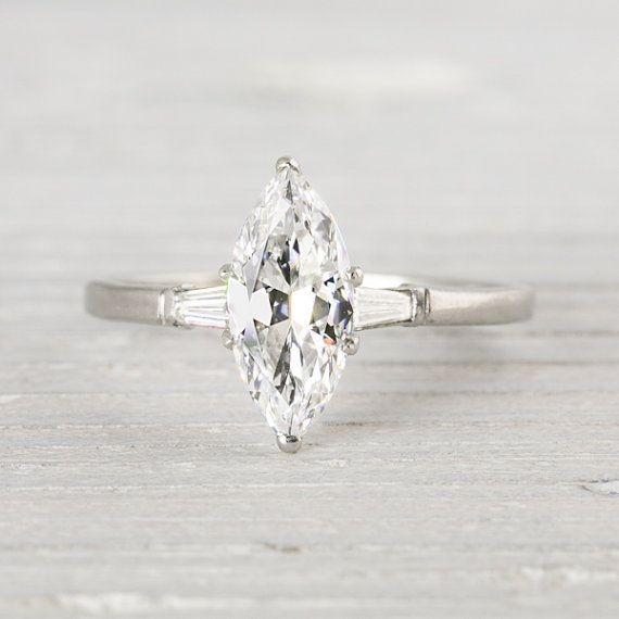 Antique Marquise Engagement Ring maybe someday
