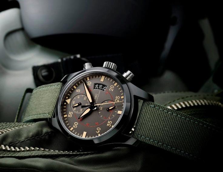 IWC 2012 Pilot's Watch Chronograph Top Gun Miramar. Ref. 3880. 46 MM.