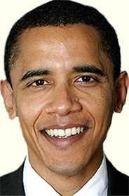 Барак Обама - американский государственный и политический деятель, 44-й президент США (с 2009), лауреат Нобелевской премии мира (2009); первый американец африканского происхождения, ставший президентом США - http://to-name.ru/biography/barack-obama.htm