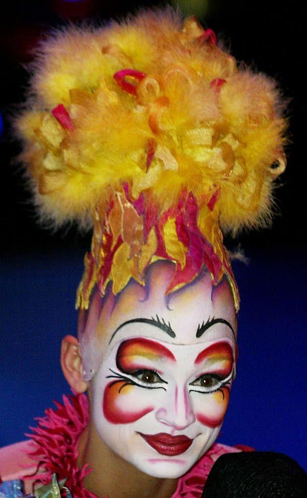 Make-up | Cirque Du Soleil | Saltimbanco