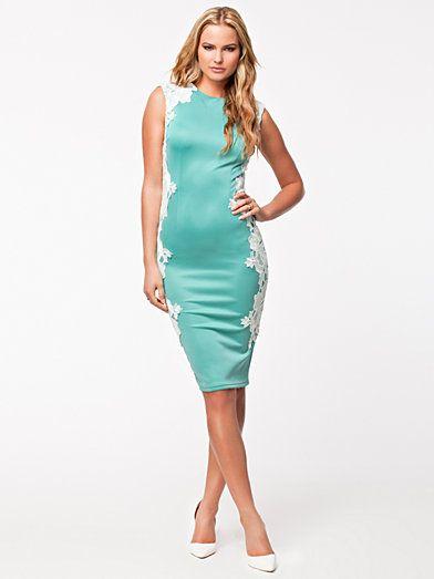 Midi Dress - Ax Paris - Aqua - Feestjurken - Kleding - Vrouw - Nelly.com