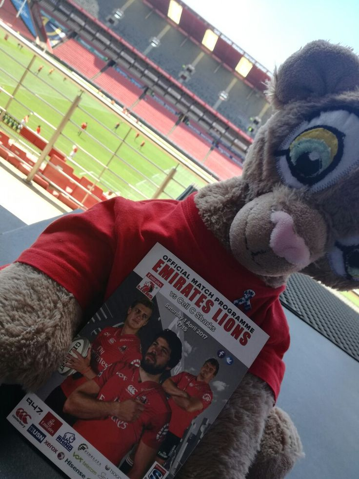 Remember to view our official match programme at www.lionsprogrammes.com!  #LeyaTheLion #Liontainment #Lions4Life #EmiratesLions #EmiratesAirlinePark #BeThere #MyLionsMoment #LIOvSHA