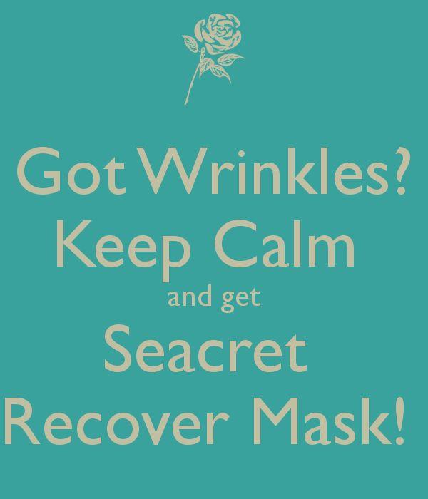 #wrinkles #antiaging #agedefying #mask #seacret